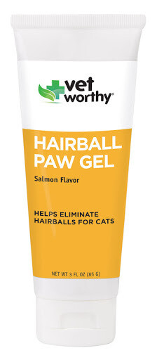 VET WORTHY HAIRBALL PAW GEL 3OZ.