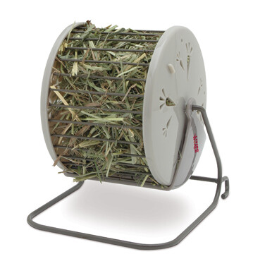 LIVING WORLD HAY DISPENSER.