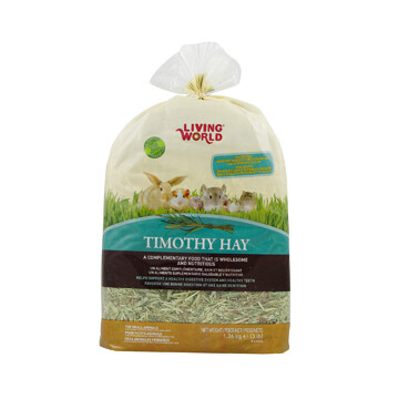 LIVING WORLD TIMOTHY HAY  XL- 1.36 KG