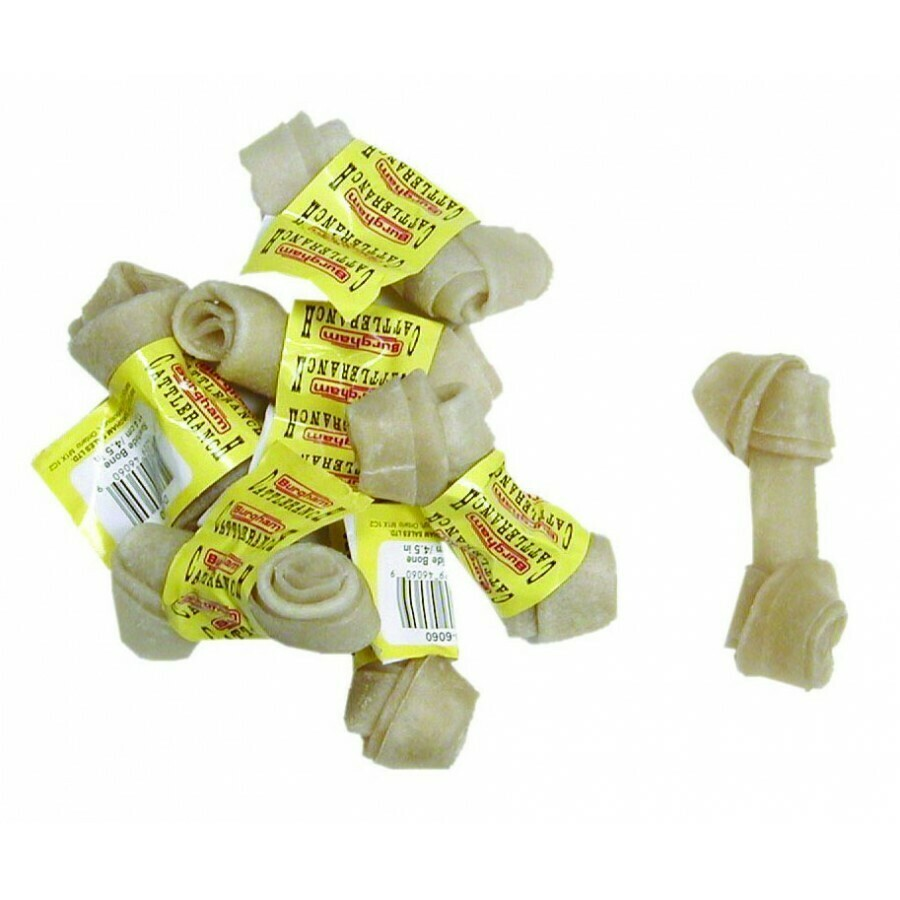 RAWHIDE BONE 4.5IN