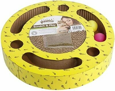 PAWISE ROUND CAT SCRATCHER.