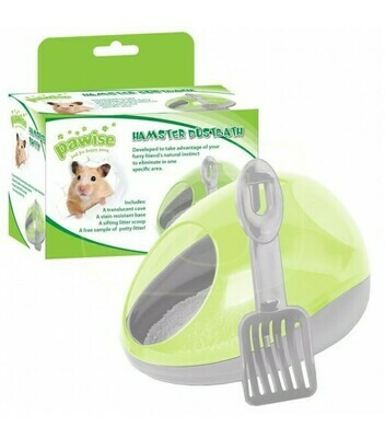 PAWISE HAMSTER DUSTBATH OR POTTY.