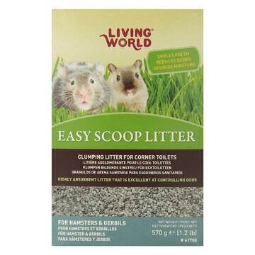 LIVING WORLD EASY SCOOP LITTER 570G.