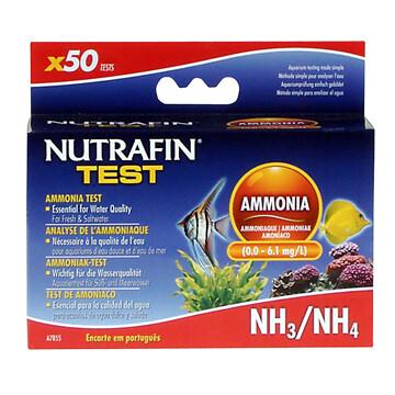 NUTRAFIN AMMONIA NH3/NH4 50 TEST KIT.