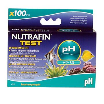 NUTRAFIN PH WIDE RANGE 100 TEST KIT.