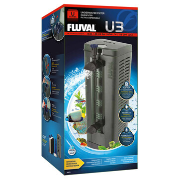 FLUVAL U3 UNDERWATER FILTER 40G.