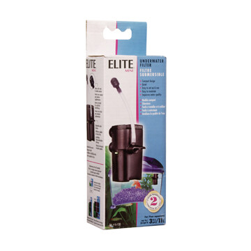 ELITE MINI UNDERWATER FILTER.