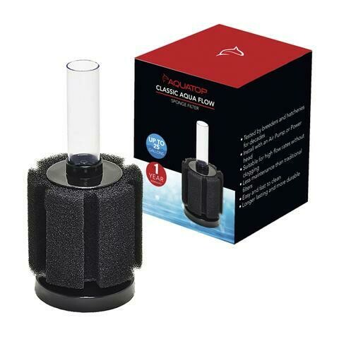 AQUATOP WEIGHTED SPONGE FILTER 25G.