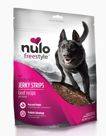 NULO JERKY STRIP 5 OZ - BEEF.