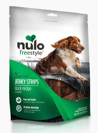 NULO JERKY STRIP 5 OZ - DUCK.