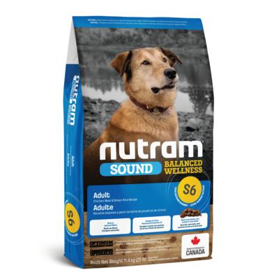 NUTRAM DOG S6 ADULT 11.4KG.