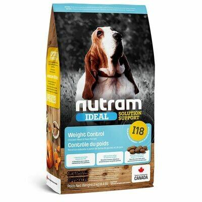 NUTRAM DOG I18 WEIGHT CONTROL 2KG.
