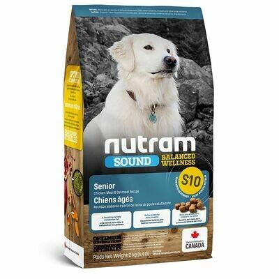 NUTRAM DOG S10 SENIOR 2KG.