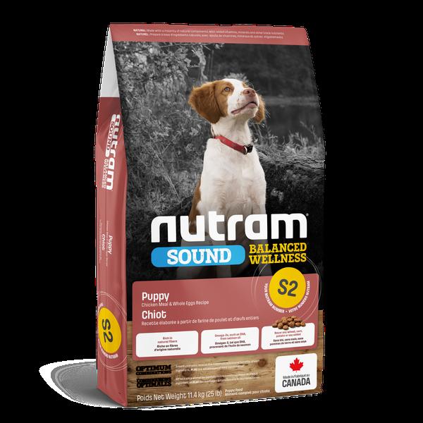 NUTRAM DOG S2 PUPPY 11.4KG.