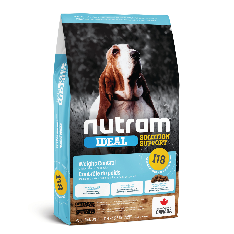NUTRAM DOG I18 WEIGHT CONTROL 11.4KG.