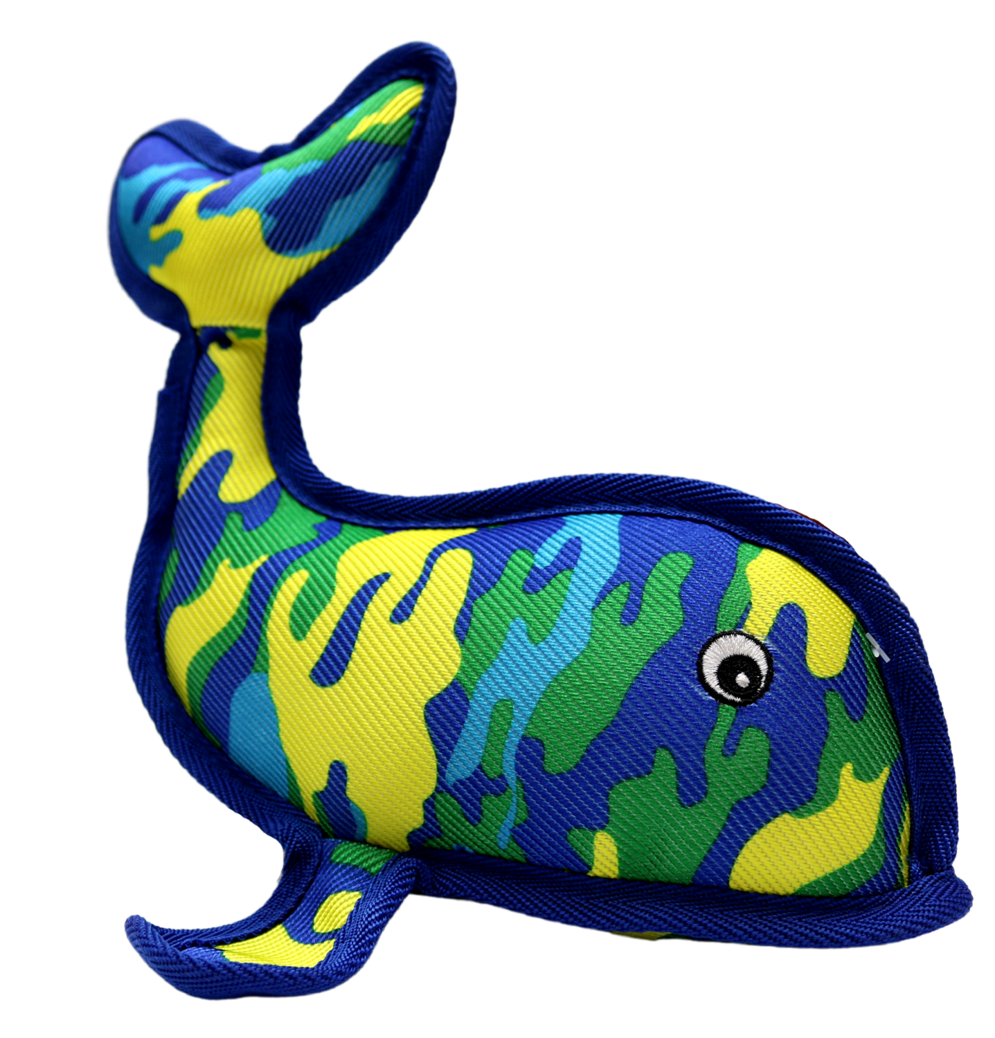 PET LOU SEAWARRIOR WHALE 11IN.