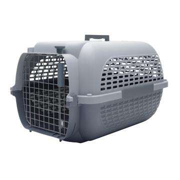 DOGIT VOYAGEUR CARRIER GREY/CHARCOAL - SM (19X12.8X11)