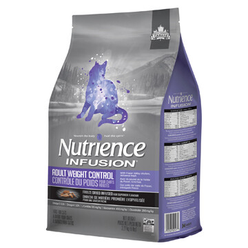 NUTRIENCE INFUSION CAT WEIGHT CONTROL 2.27KG.