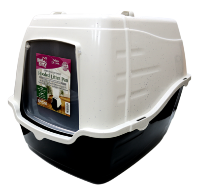 HERE KITTY DELUXE HIGHBACK HOODED LITTER PAN