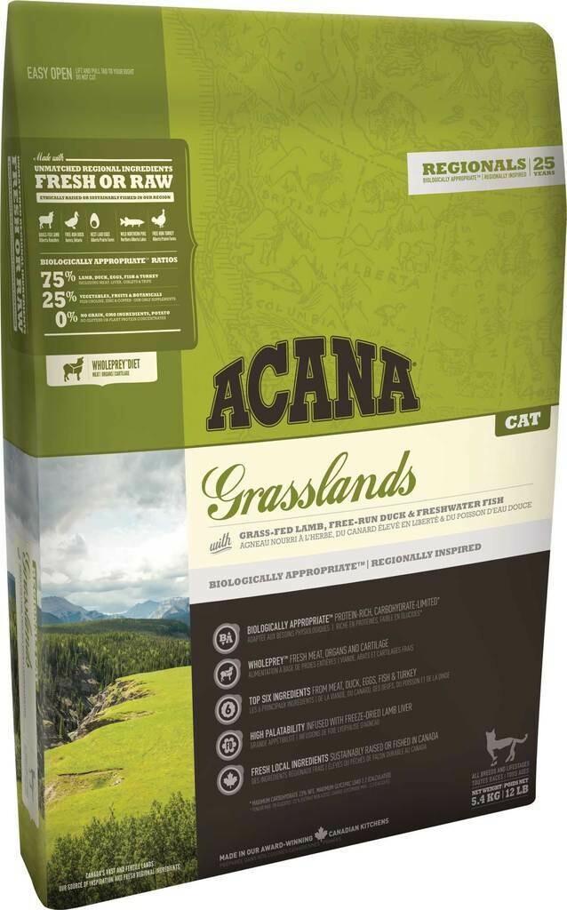 ACANA REGIONALS CAT GRASSLANDS 4.5KG