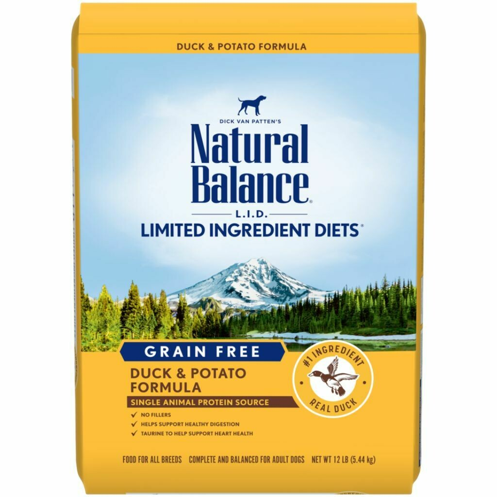 NATURAL BALANCE DOG DUCK & POTATO 10.9KG