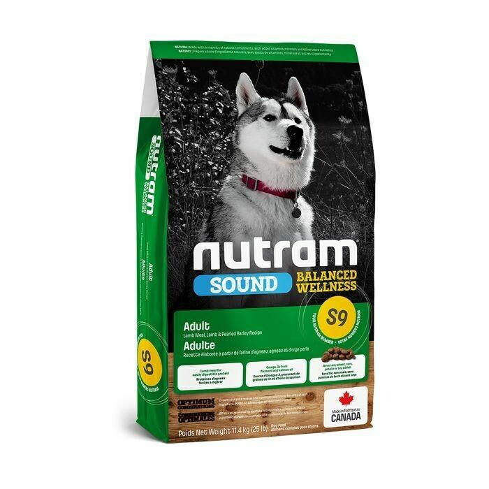 NUTRAM DOG S9 ADULT 11.4KG.
