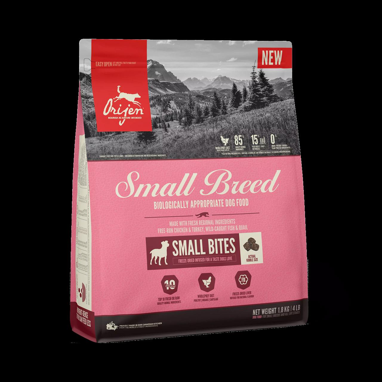 ORIJEN SMALL BITES FOR SMALL BREED 1.8KG