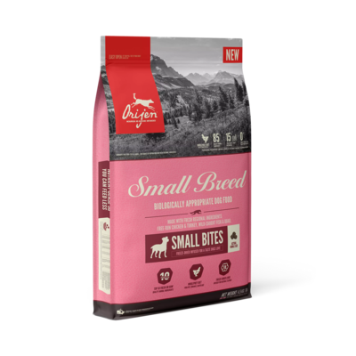 ORIJEN SMALL BITES FOR SMALL BREED 4.5KG