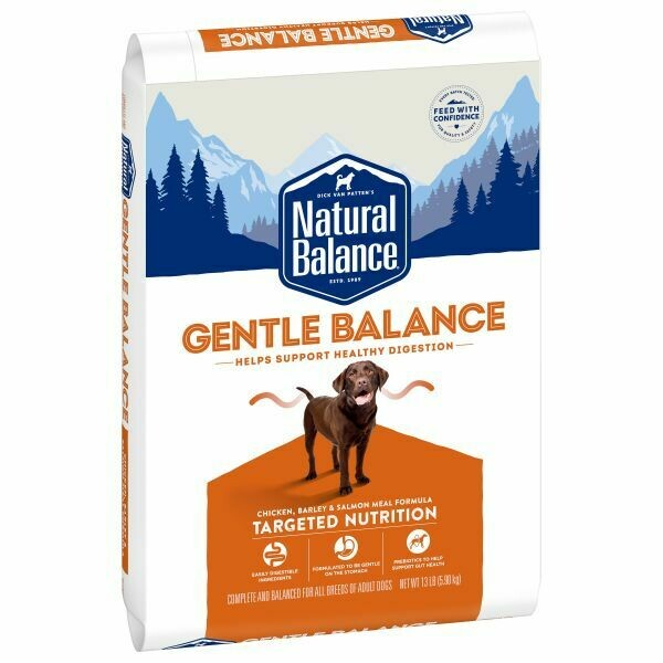 NATURAL BALANCE GENTLE BALANCE DOG FOOD 2.04KG