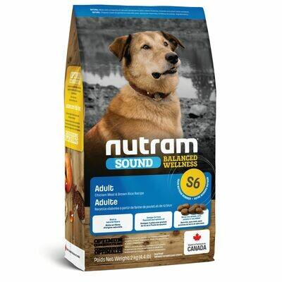 NUTRAM DOG S6 ADULT 2KG.