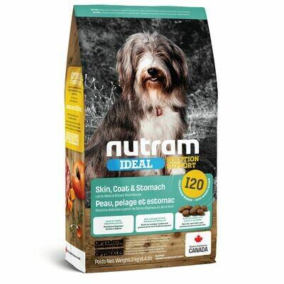 NUTRAM DOG I20 SKIN COAT & STOMACH 2KG.