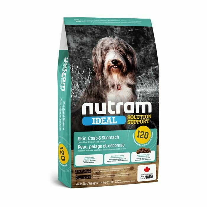 NUTRAM DOG I20 SKIN COAT & STOMACH 