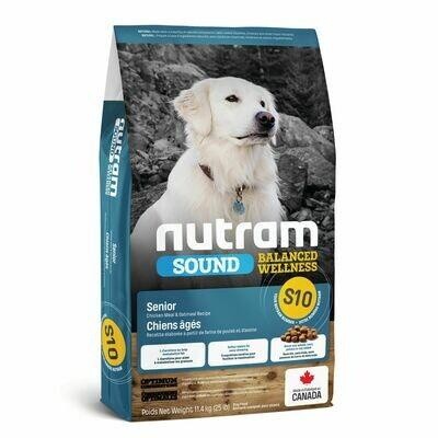 NUTRAM DOG S10 SENIOR 11.4KG.