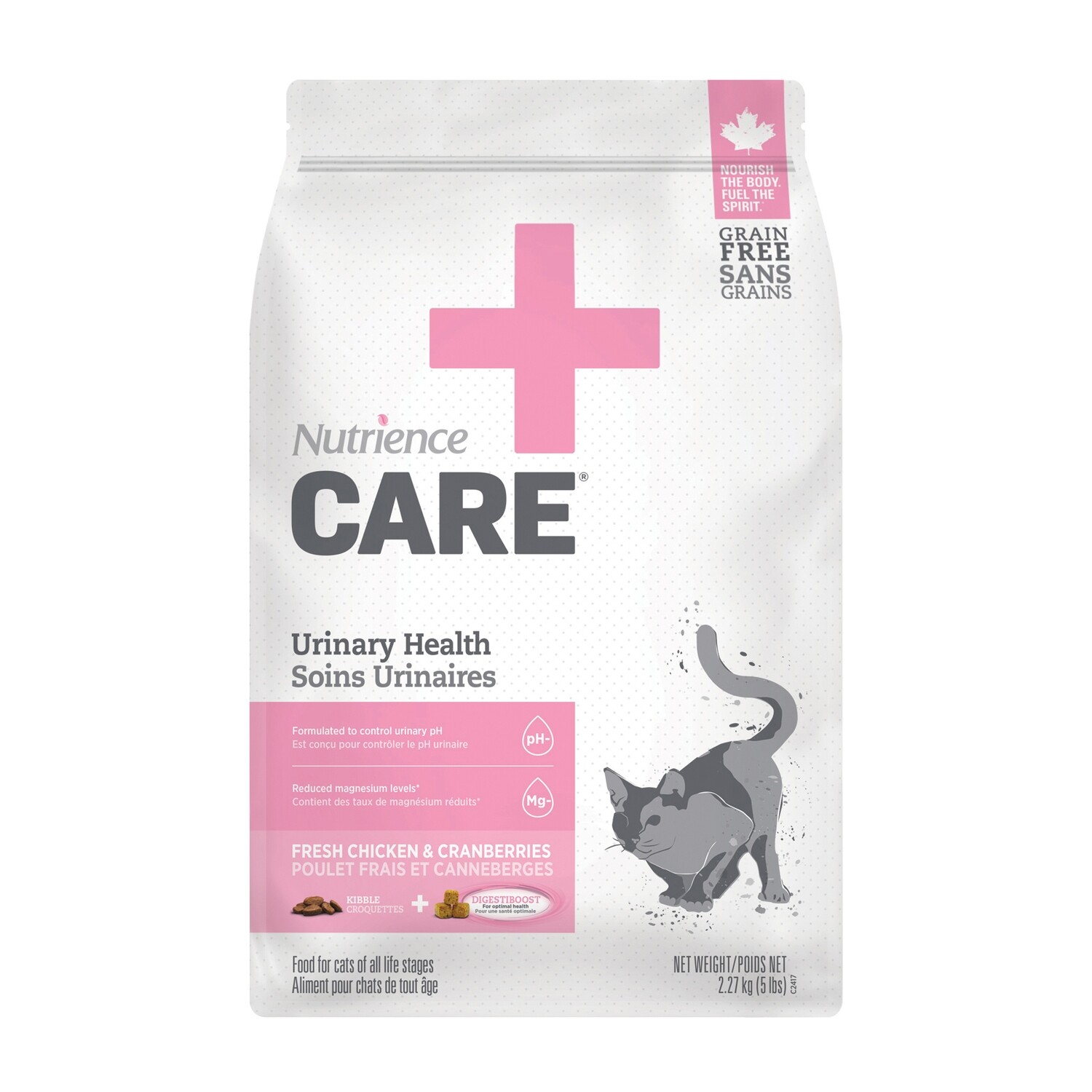 NUTRIENCE CARE URINARY HEALTH F/CATS 2.27KG