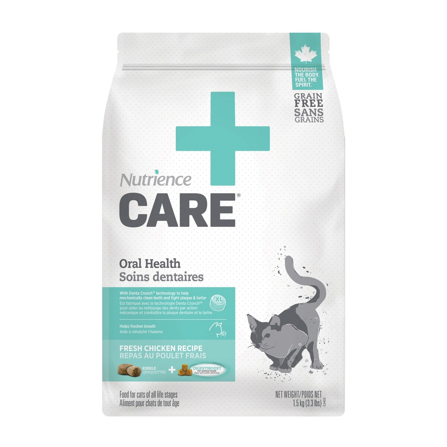 NUTRIENCE CARE ORAL HEALTH F/CATS 1.5KG