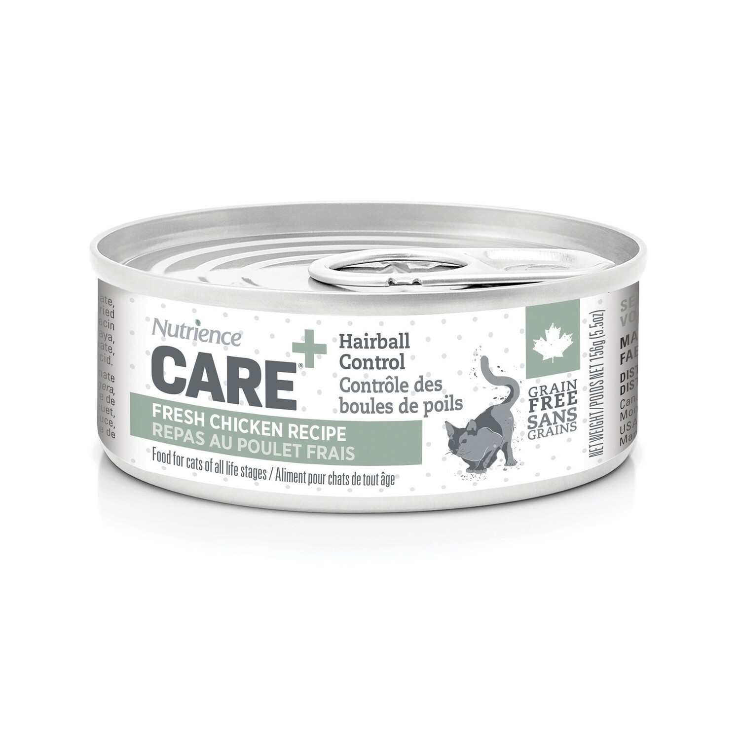 NUTRIENCE CARE HAIRBALL CONTROL PATE F/CATS 156G