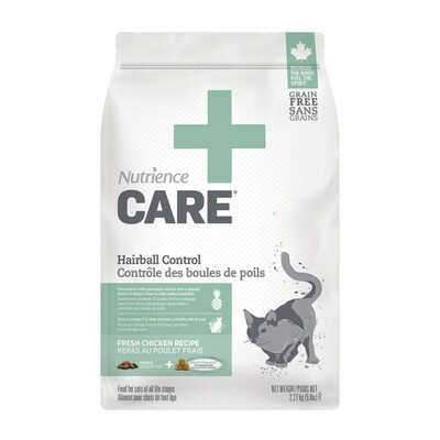 NUTRIENCE CARE HAIRBALL CONTROL F/CATS 2.27KG