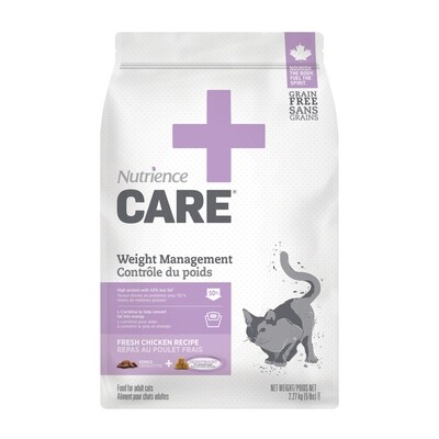 NUTRIENCE CARE  WEIGHT MANAGEMENT  F/CATS 2.27KG