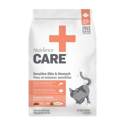 NUTRIENCE CARE  SENSITIVE SKIN & STOMACH F/CATS 2.27KG