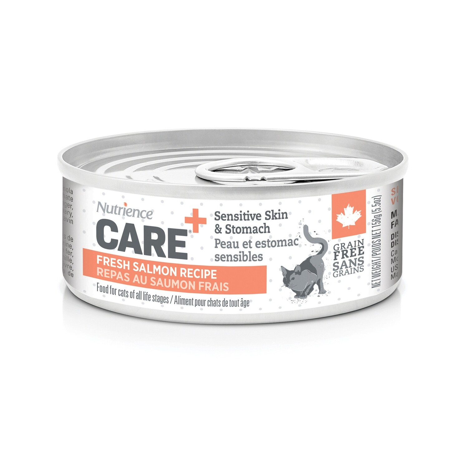 NUTRIENCE CARE  SENSITIVE SKIN & STOMACH PATE F/CATS 156G