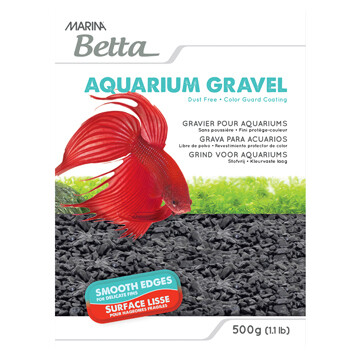 MARINA BETTA GRAVEL BLACK 500G