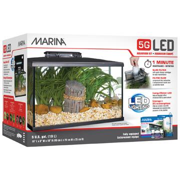 MARINA 5G LED AQUARIUM KIT.