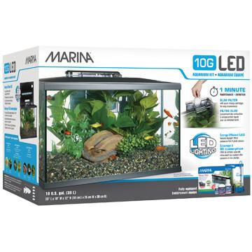 MARINA 10G LED AQUARIUM KIT.
