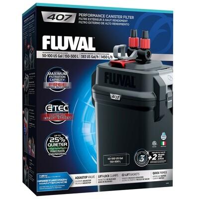 FLUVAL 407 EXTERNAL CANISTER FILTER.