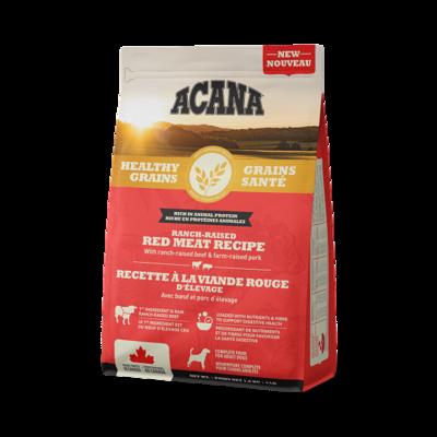 ACANA  GRAINS-RED MEAT RECEIPE 10.2KG