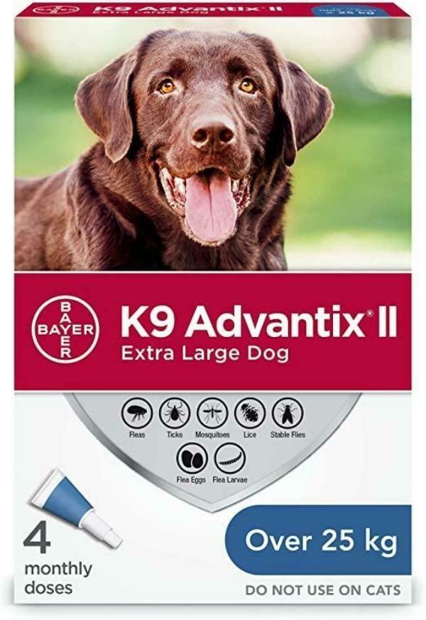 K9 ADVANTIX F/XL DOG >25KG 4.0ML