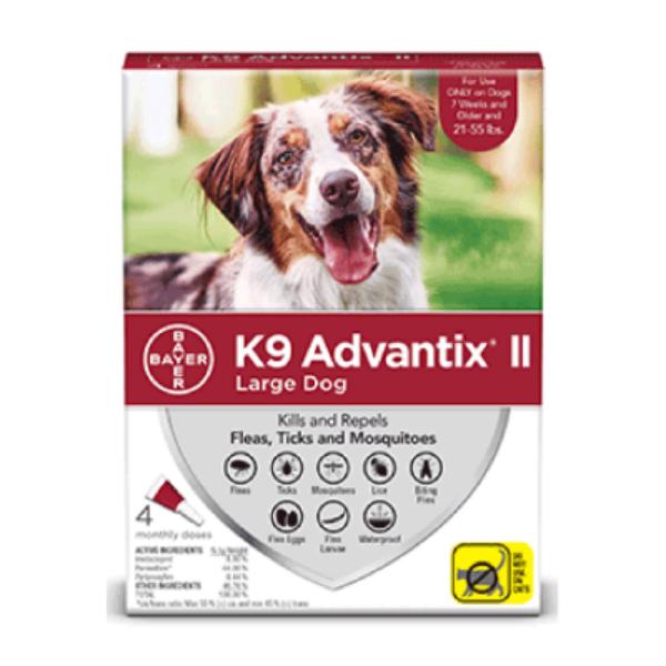 K9 ADVANTIX F/MED DOG  11-25KG