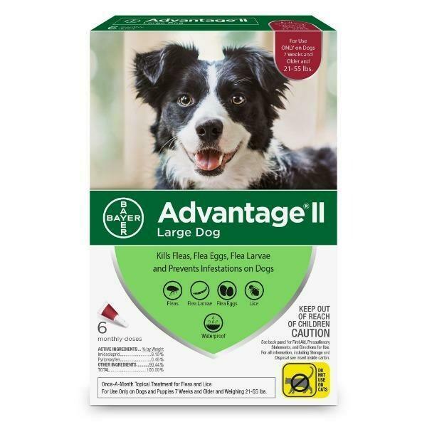 ADVANTAGE 2 F/LARGE DOG  11-25KG
