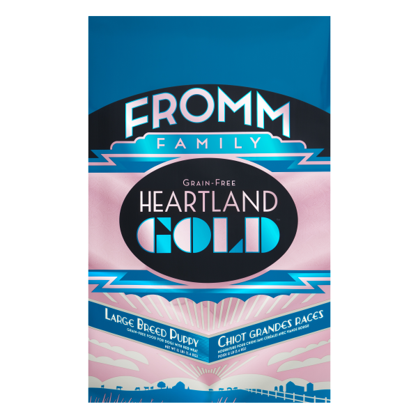 FROMM DOG HEARTLAND GOLD GF LGE BREED PUPPY 5.4KG