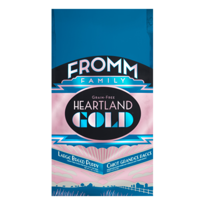 FROMM DOG HEARTLAND GOLD GF LGE BREED PUPPY 1.8KG